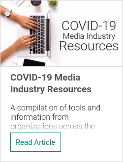 COVID-19 Media Industry Resources
