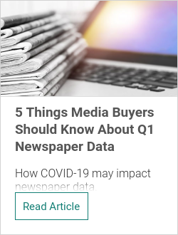 5 Things Media Buyers Should Know About Q1 Newspaper Data