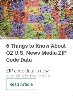 6 Things to Know About Q2 U.S. News Media ZIP Code Data