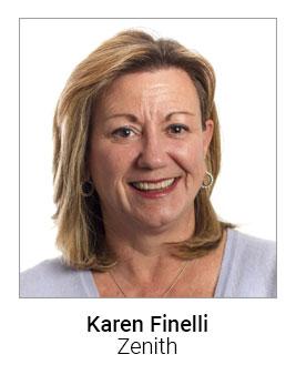 Karen Finelli, Zenithmedia