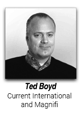 Ted Boyd, CEO, Current International and Magnifi