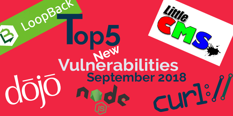 New Open Source Security Vulnerabilities in September 2018