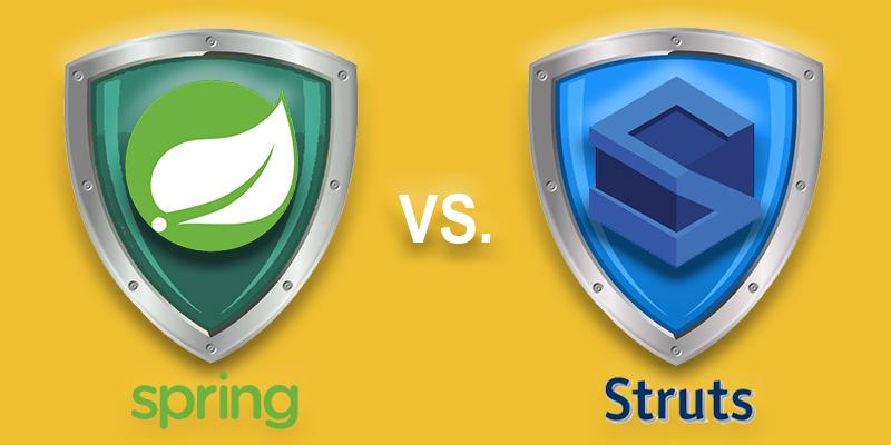 Apache Struts vs Spring Vulnerabilities
