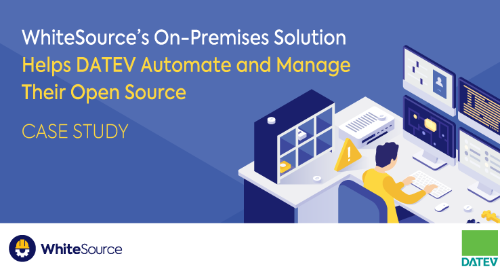 WhiteSource's On-Premises Solution Helps DATEV Automate and Manage Their Open Source