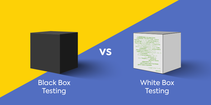 Differences between white box and black box pen testing.