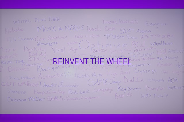 Buzzword Cloud - Reinvent the Wheel
