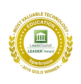Sparkroom - Most Valuable Technology Award