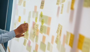 Post-Its Planning Board