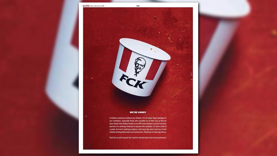 KFC's FCK Apology Ad