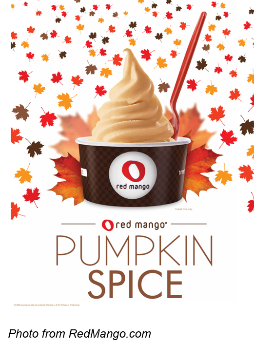 red mango pumpkin spice Autumn in Marketing: The Top 5 Fall Campaigns