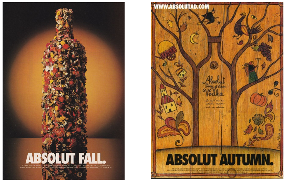 Absolut Vodka Autumn in Marketing: The Top 5 Fall Campaigns
