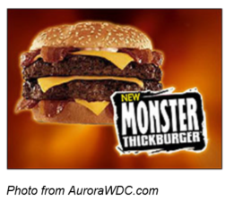 Monster Thickburger