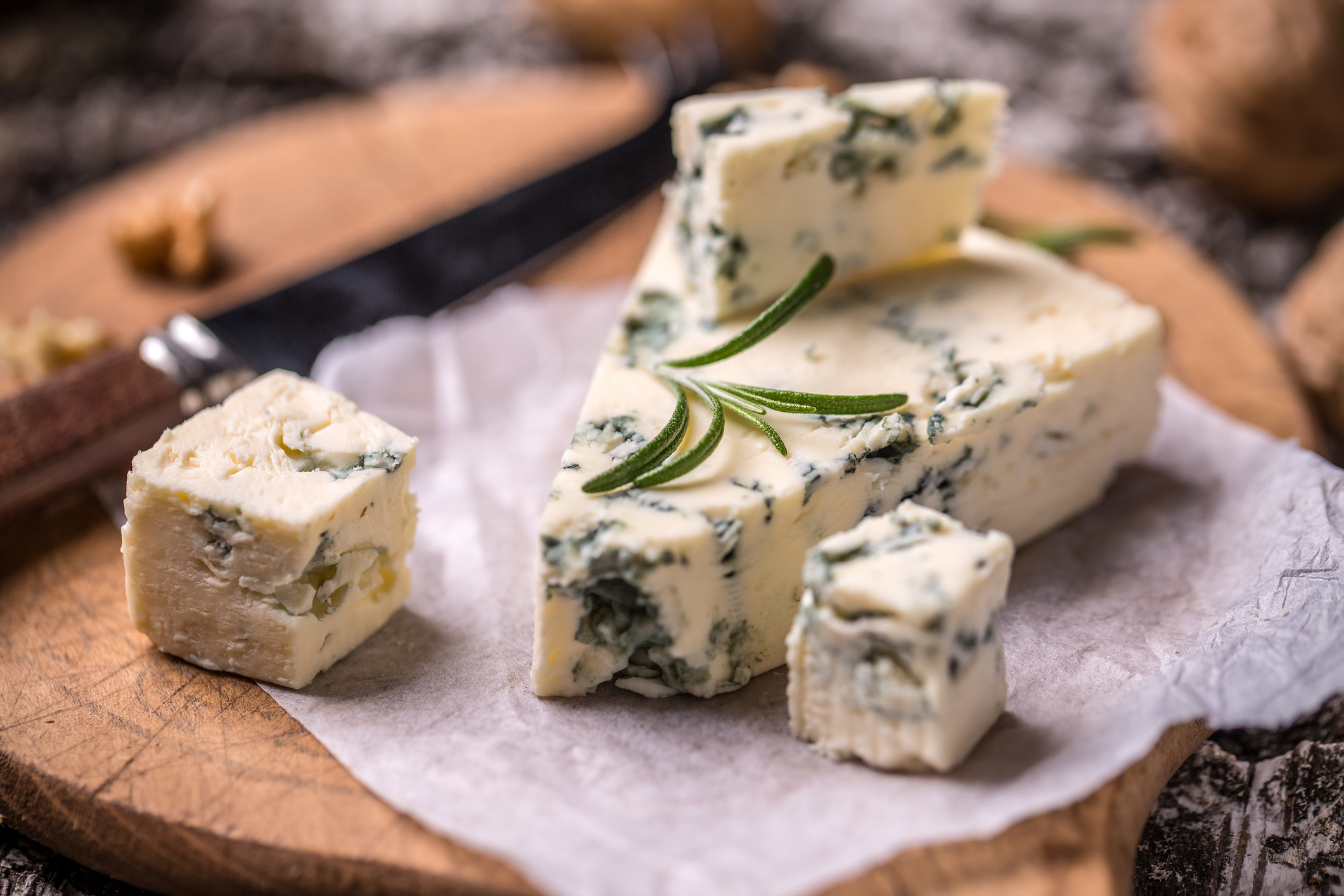 Roquefort moldy cheese day marketing