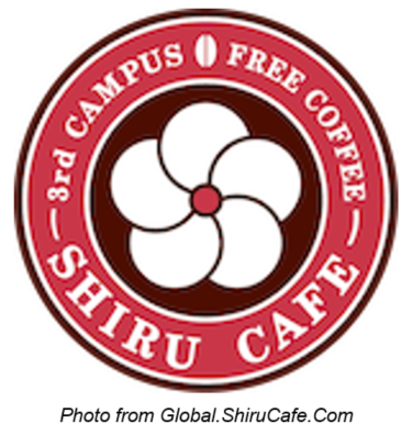 shiru cafe free coffee college students