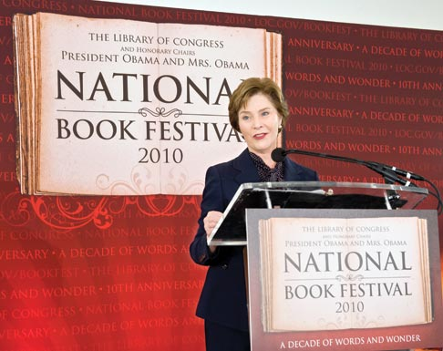 laura bush National Book Festival first lady