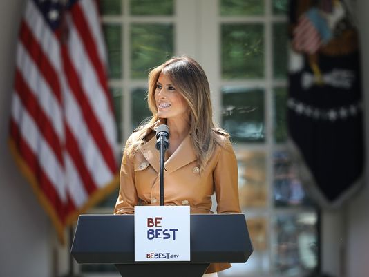 Melania Trump first lady be best