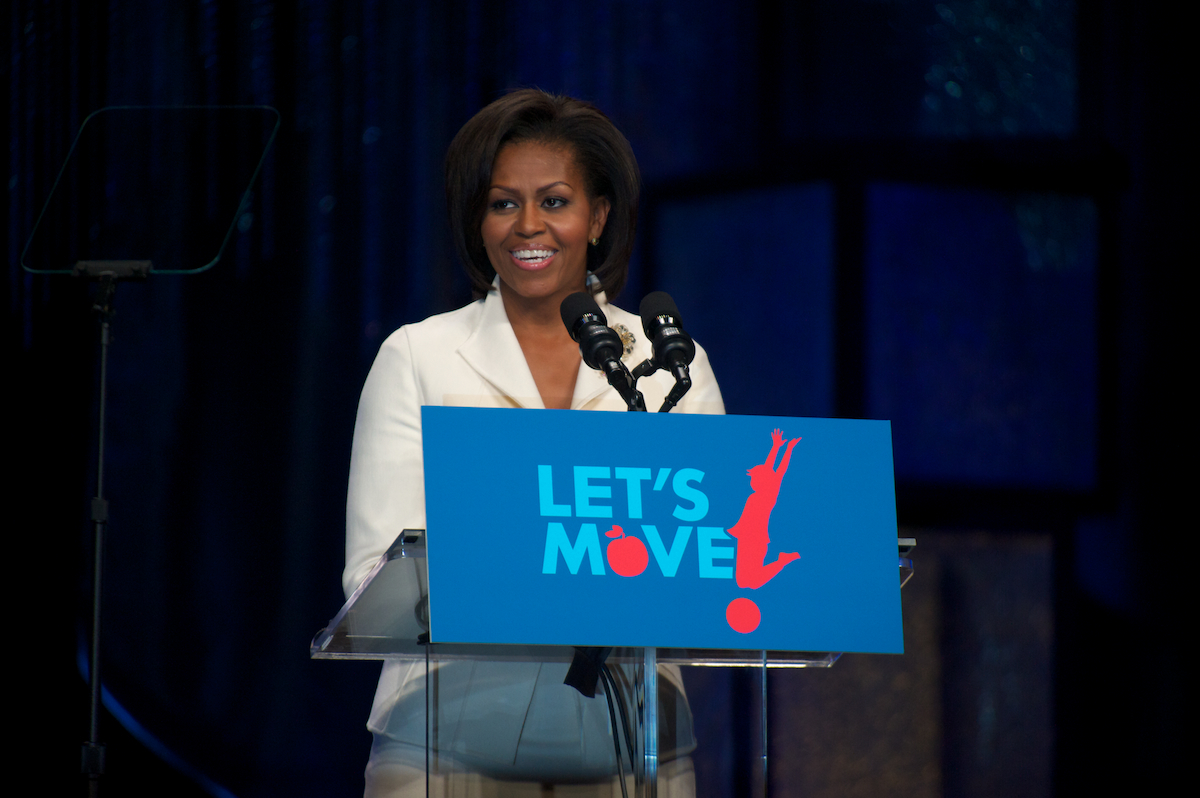 michelle obama lets move first lady