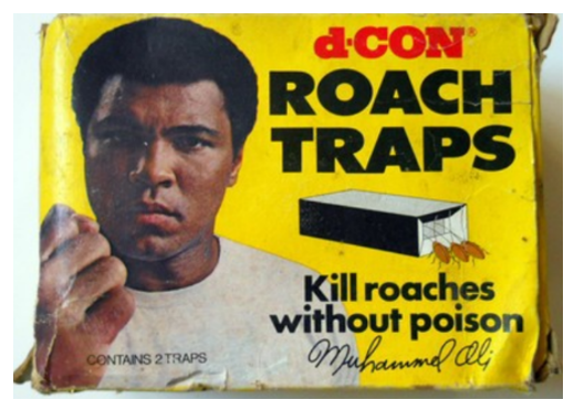 Muhammad Ali roach traps marketing
