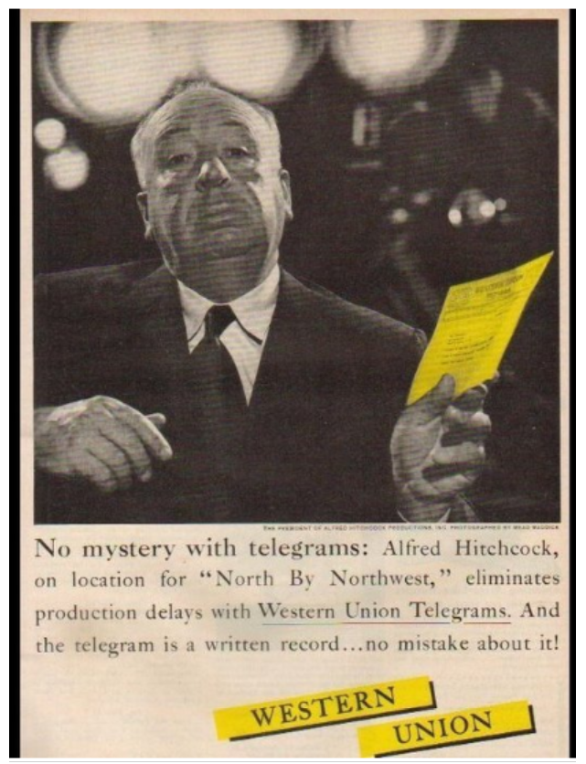 alfred hitchcock marketing