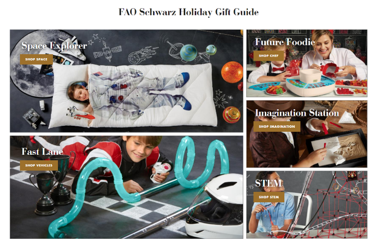 FAO schwarz holiday gift guide