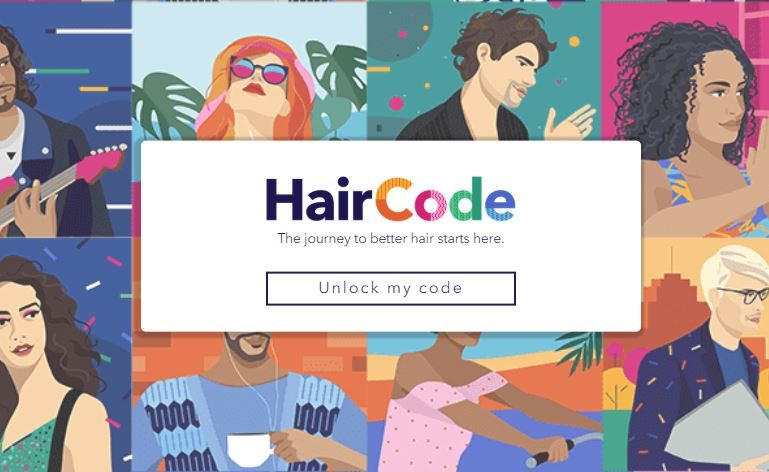 Procter & Gamble HairCode hair curls marketing