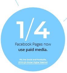 facebook pages paid media social ad budgets
