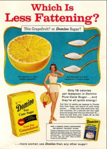 domino sugar diet marketing weightloss