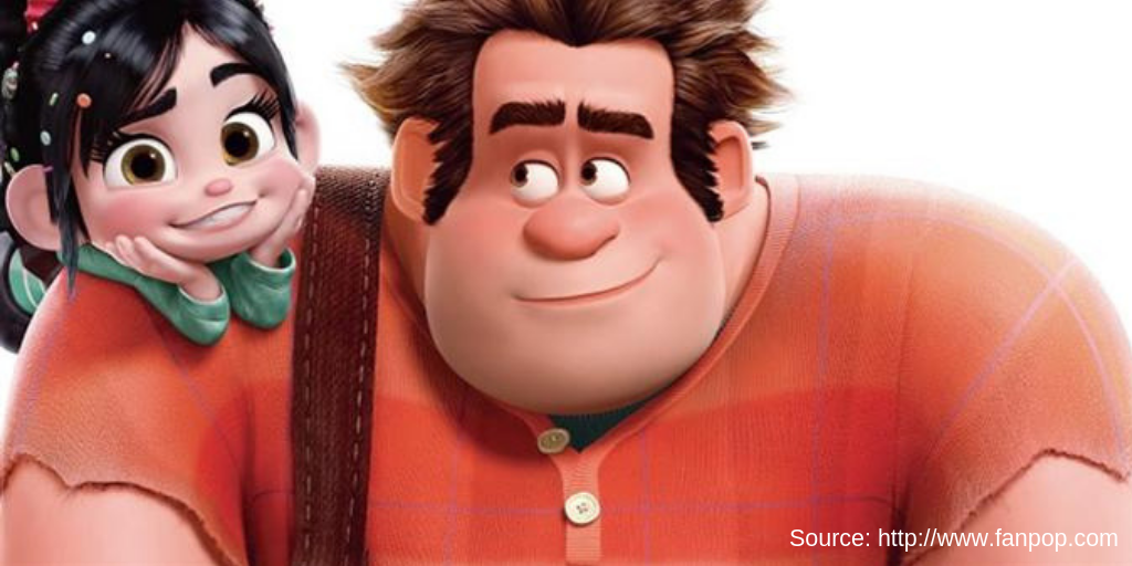 wreck it ralph Vanellope marketing