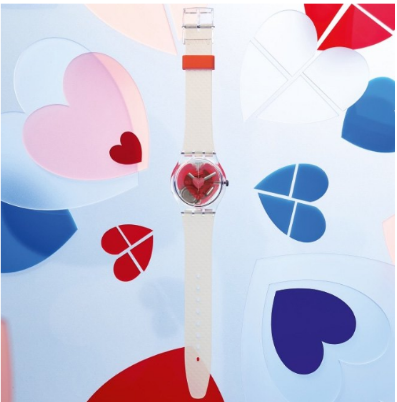 Swatch's Annual Valentine's Day Watch