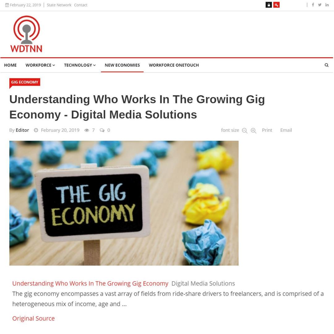 wdtnn gig economy