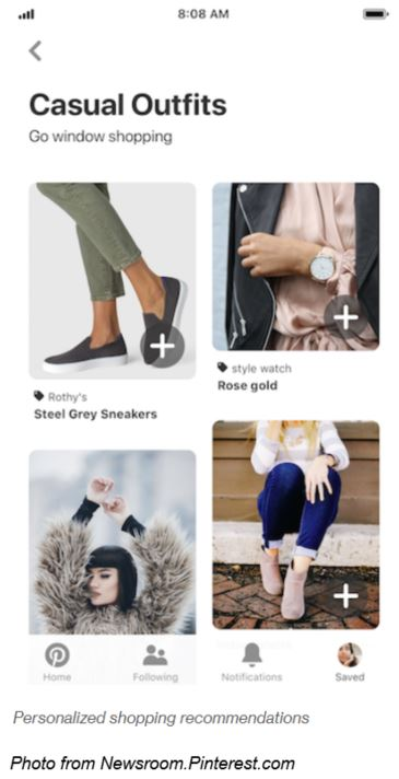 Pinterest Add New Social Shopping Features