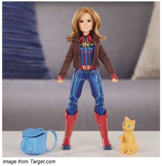 Target Captain Marvel Items Action Figures