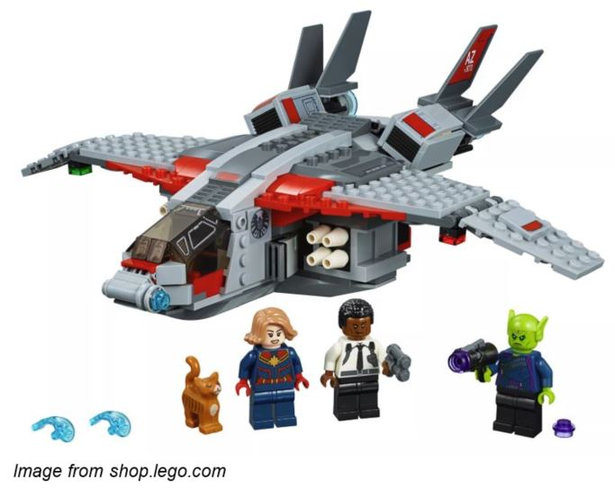 Captain Marvel LEGO Set