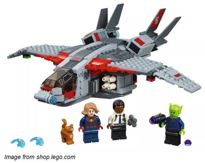 Captain Marvel LEGO Set