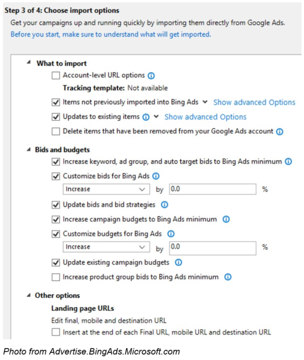 Bing Update In Their Ads System