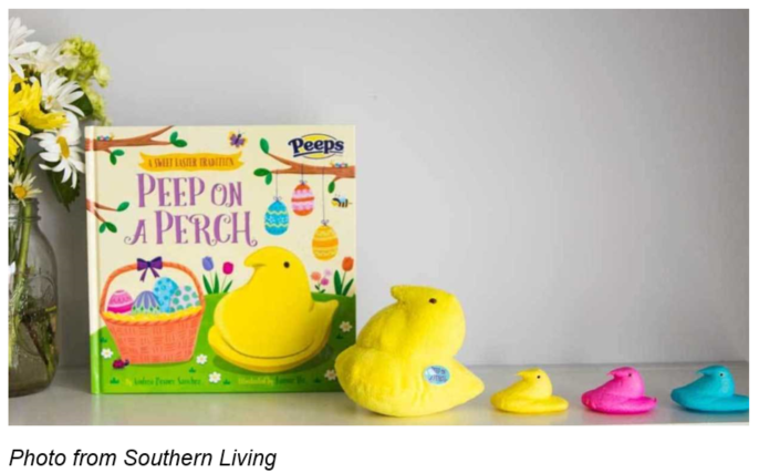 Peep's Marshmallows: Peep On A Perch
