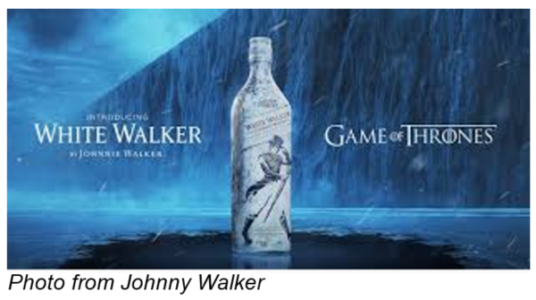 white walker johnny walker game of thrones