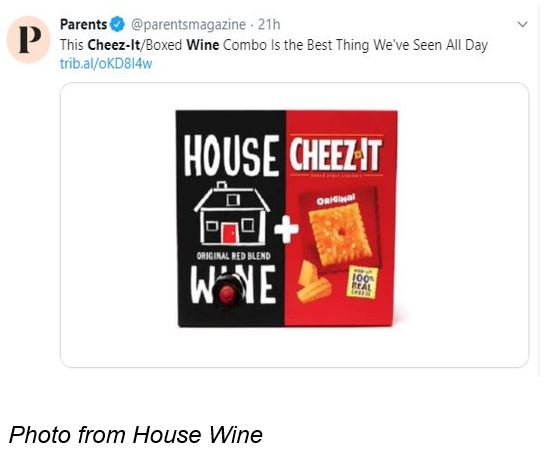 Cheez-It X House Wine