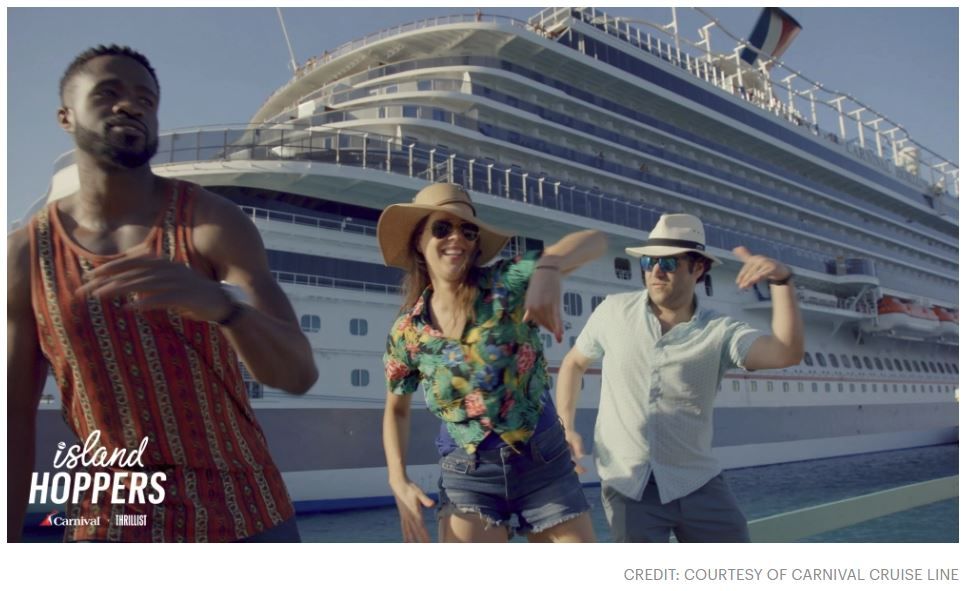Thrillist, Carnival Cruise Line Island Hoppers