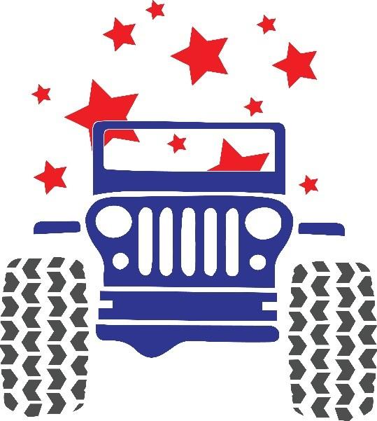 Jeep patriotic