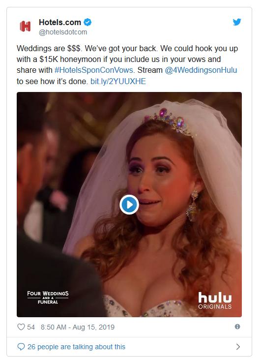 hotels.com weddings