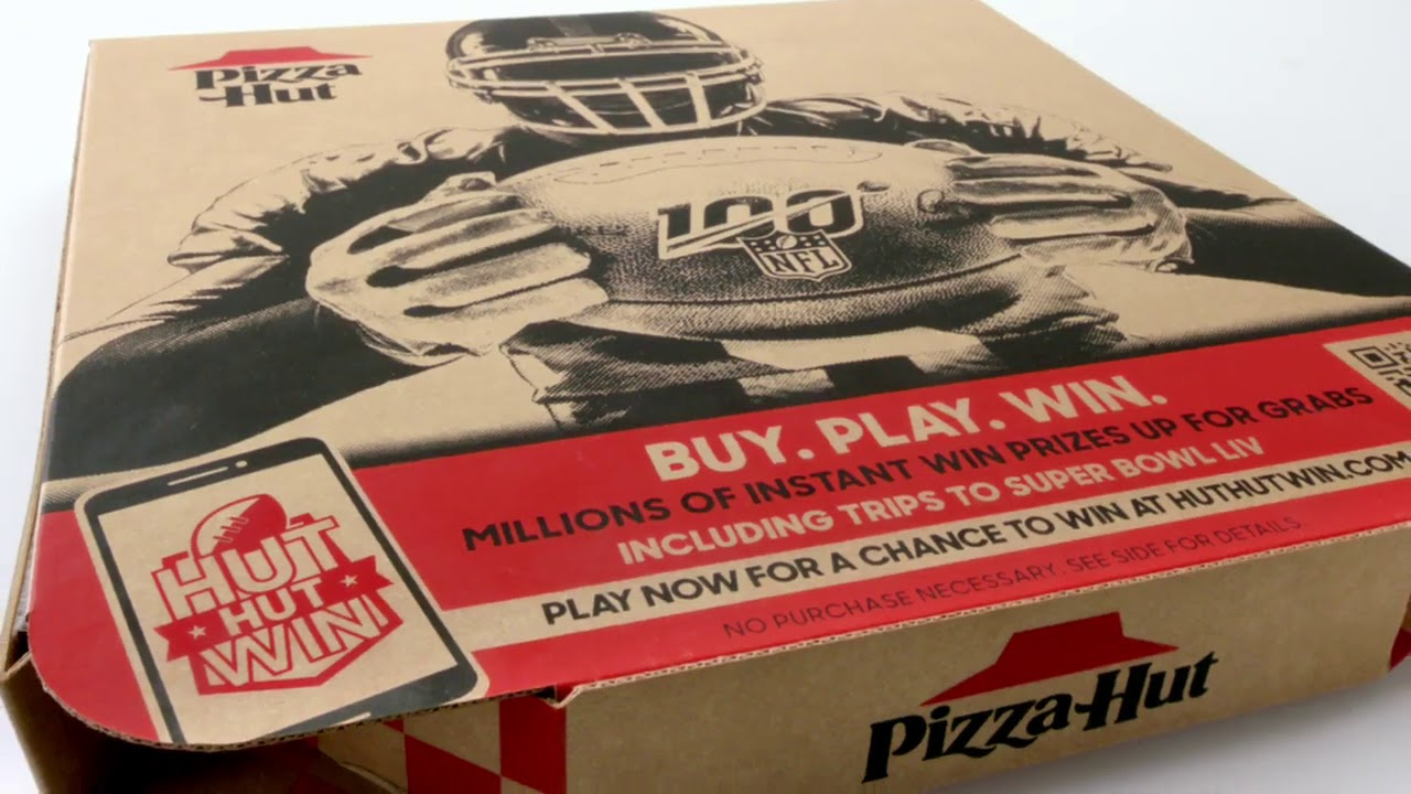 Pizza Hut Releases Hut Hut Win Game