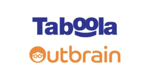 Taboola And Outbrain logo
