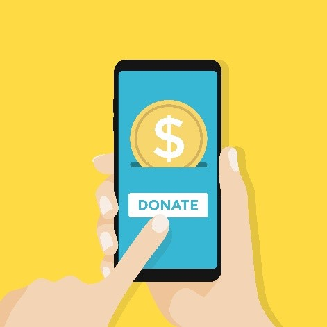 mobile device donate