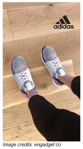 Adidas Uses Augmented Reality (AR) Experience To Drive Sales