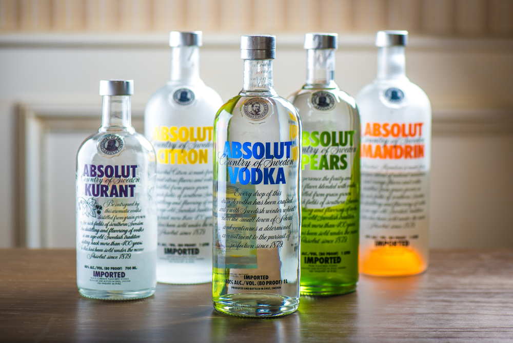 Absolut Vodka Flavors