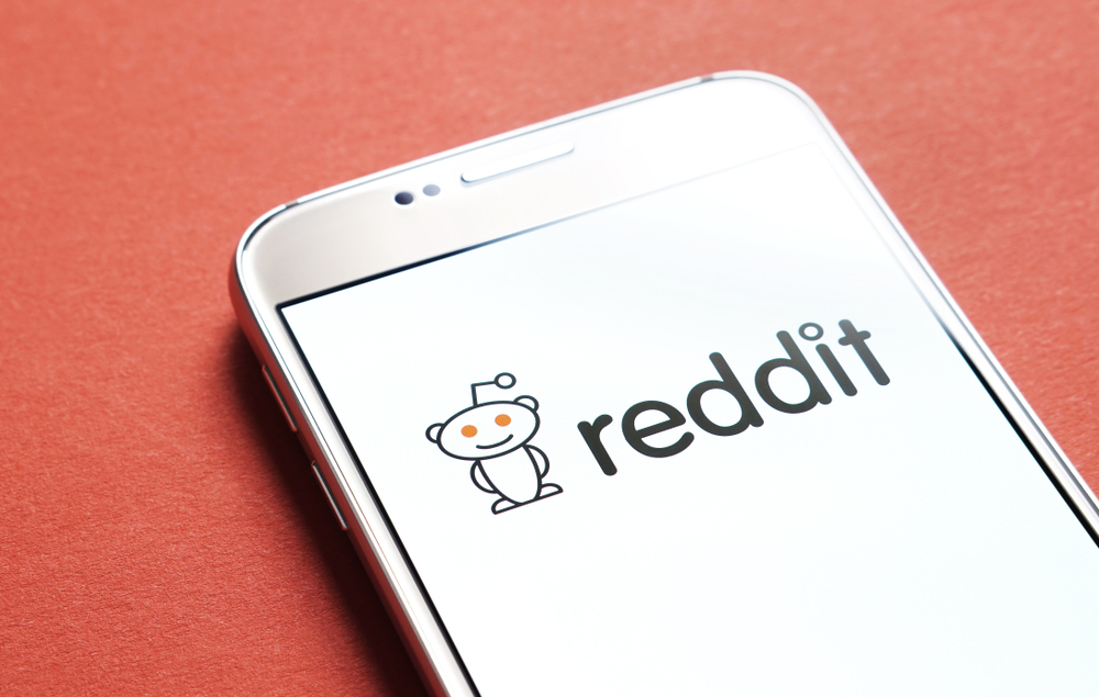 reddit on mobile device