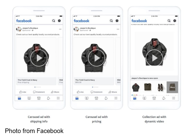 Facebook Dynamic Ad Formats