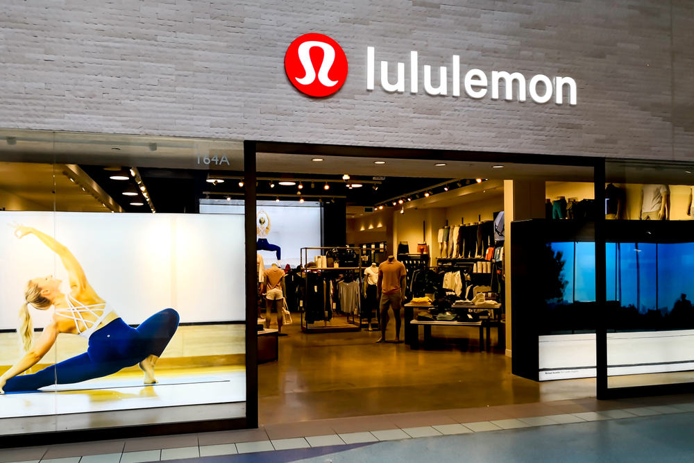 Shutterstock_1456483730 lululemon athletica store front at Vaughan Mills near Toronto, Canada. lululemon athletica is a Canadian athletic apparel retailer.