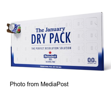 The January Dry Pack MediaPost Heineken